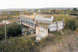 « Pont 02 (Nanterre) », 2009 Projet abandonné d'un échangeur à Nanterre Photographie, 60 x 75 cm