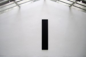 « Column Painting », 1989, acrylique sur toile, 247,5 x 49 cm