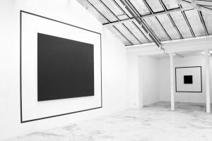 « Outline Painting », 2007, acrylique sur toile, 216 x 270 cm – total : 333 x 381 cm