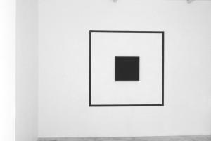 « Outline Painting », 2007, acrylique sur toile – total : 171 x 171 cm