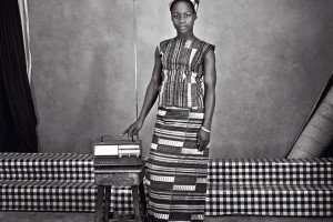 « Ségou #98 » - Mali, 1969, photographie noir et blanc sur papier baryté, 30 x 30 et 70 x 70 cm