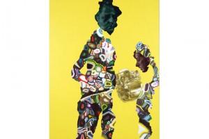 « Double portrait (Pauline) », 2006, huile et acrylique sur toile, 178 x 139 cm
