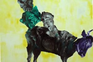 « Europe – Mehrlicht », 2011, huile et acrylique sur toile, 135 x 172,5 cm