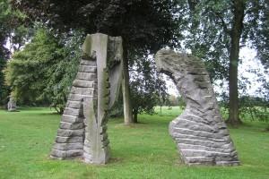 « le message », 1989, pierre de Soignies