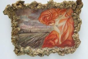« Ciel d'automne », 2006, technique mixte, 39 x 53 x 7 cm