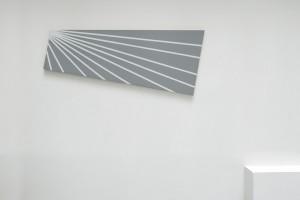 Sans titre, 2006, laque sur toile, 65 x 160 cm