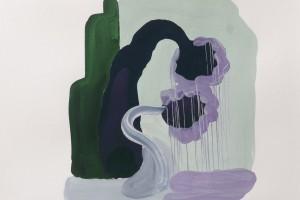 « couple », 2008, gouache sur papier, 25 x 32,5 cm