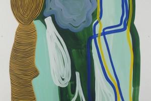 sans titre, 2010, gouache sur papier vinci, 120 x 80 cm
