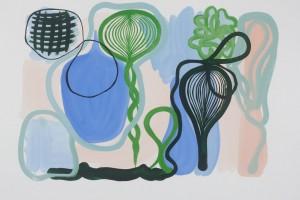 sans titre, 2011, gouache sur papier, 50 x 65 cm