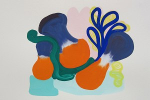 sans titre, 2012, gouache sur papier, 28.5 x 38.5 cm
