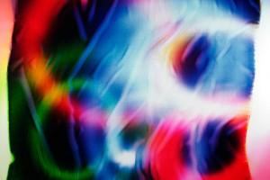 « Ellipses #2 », 2006, photogramme couleur, cibachrome, 99 x 120 cm