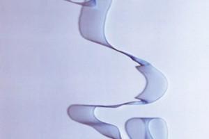 « Ruban #7 », 2009, photogramme couleur, cibachrome, 126 x 54 cm