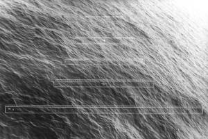 « Instruments de mesure, règles graduées », 1988, photogramme avec photographie noir et blanc, 74 x 111 cm