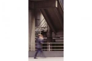 « sans titre #20 », 2006, jet d'encre sur toile, 157 x 90 cm