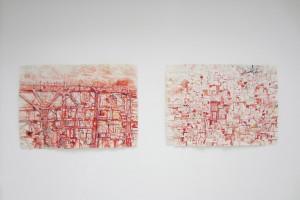 David Scher – Sans titre, 2008, 95 x 135 cm