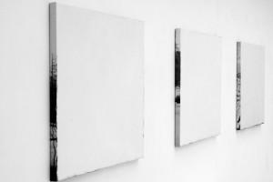 « Saint-Moritz », 2008, acrylique sur jet d'encre sur toile, 96,5 x 102 cm