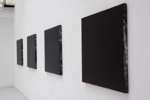 « Clermont-Ferrand », 2008, acrylique sur jet d'encre sur toile, 96,5 x 102 cm