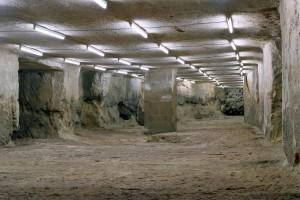 « Concave 07 (Ruillé) », 2012, photographies en multi-exposition de carrières souterraines, 75 x 100 cm