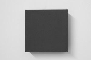 « Square Painting », 1991, acrylique sur toile, 18 x 18 cm