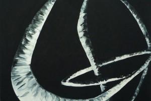 « les sculptures de ma mère #8 », 2008-09, huile sur toile, 60 x 73 cm