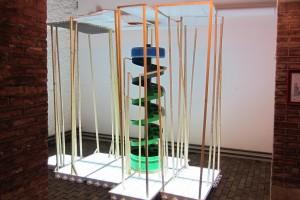 vue de l'exposition « les 10 ans de la galerie jean brolly », bastille design center, paris – février 2012