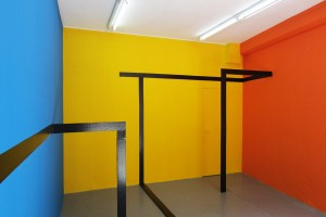 installation in situ « for orange, yellow and blue »