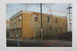 « willemstadt, 2007 > amsterdam, 2011 », 2011, encre sur photographie, 38 x 57 cm – exemplaire unique