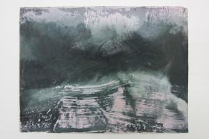 Sans titre, 2013, tempera à l'œuf sur papier, 23 x 31 cm