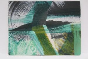 Sans titre (P2010#33), 2013, tempera à l'œuf, sur lin sur bois, 30 x 40 cm