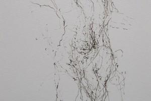 sans titre, 1990, encre sur papier, 32 x 24 cm (encadré 51 x 43 cm)