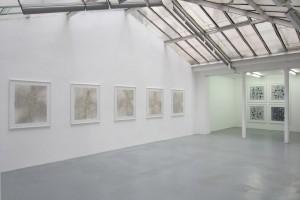 « Figures » et « Quadrillé billes » – 2011, scanogramme, épreuve pigmentaire, 105 x 96 cm