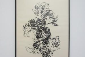« Calcination », 1962, encre sur papier, 65 x 51 cm