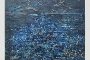 « Mars », 2014, huile sur toile, 130 x 162 cm
