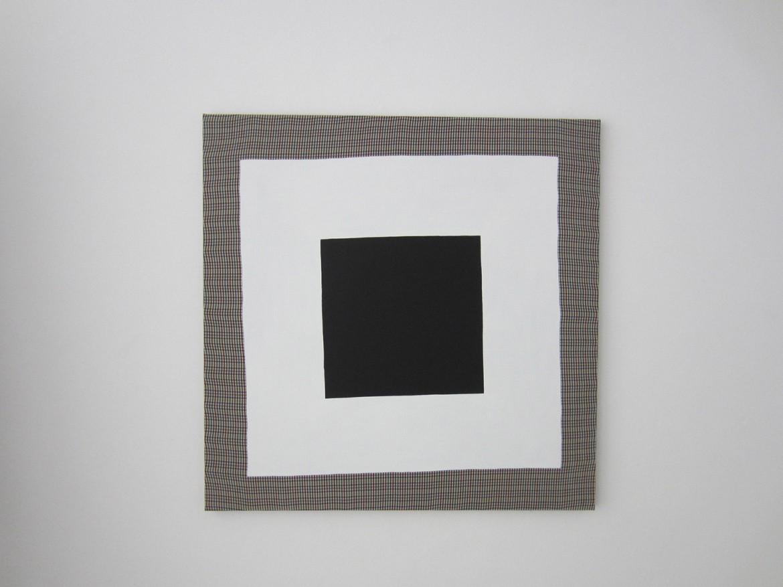 « Gentleman », 2013, acrylique sur tissu, 100 x 100 cm