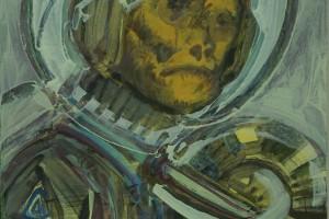 «Pasazerka (la passagère)», 2007-2014, huile sur toile, 51 x 41 cm