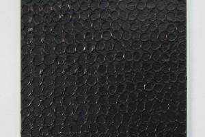 Monochrome noir, 2014 – acrylique sur toile, 80,5 x 64,5 cm