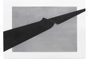 sans titre, 2015 – mine graphite sur papier – 56 x 76 cm