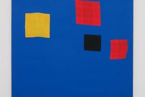 Sans titre, 2000, acrylique sur tissu, 50 x 50 cm