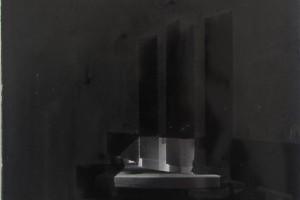 « fertilité du diable #17 », 2010, encre de chine sur papier imprimé, 29,5 x 23 cm