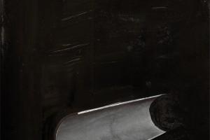 « fertilité du diable #5 », 2010, encre de chine sur papier imprimé, 29,5 x 23 cm