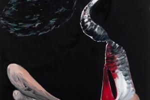 « salammbô schreber #11 », 2011, huile sur toile, 146 x 114 cm