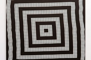 Cible, 2016, acrylique sur tissu, 70 x 70 cm