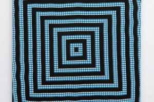 Cible, 2016, acrylique sur tissu, 50 x 50 cm