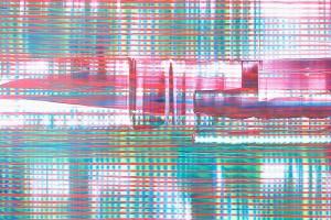 Chaque jour #22, 2005, acrylique sur PMMA, 65 x 74 cm