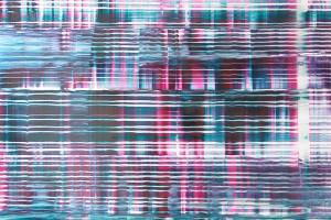 Chaque jour #C, 2005, acrylique sur PMMA, 76 x 90 cm
