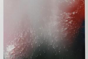 Point du jour #1312, 2012, bombe acrylique sur alucobond, 80 x 65 x 4 cm