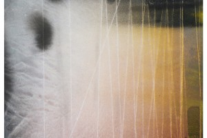 « Dessin #G2714 », 2014, acrylique sur papier, 147 x 104 cm