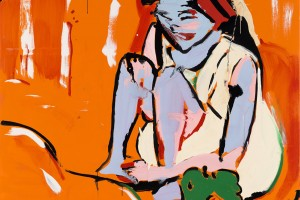«RIP (Kirchner)», 2009, huile sur toile, 210 x 210 cm