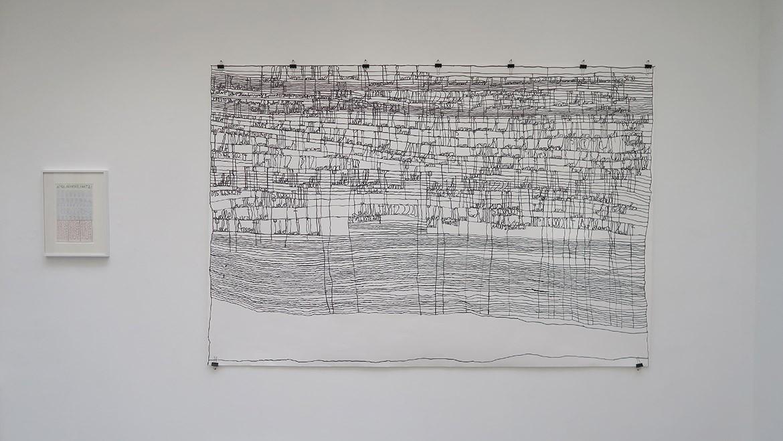 August Walla, Sans titre, non daté – Harald Stoffers, Sans titre, 2015