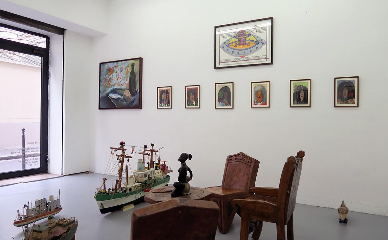 We are the painters, L'Ablette, 2015 & Sans titre (études), 2011 – Ionel Talpazan, Sans titre, 2008